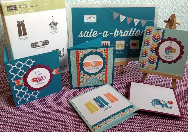 Patterned Occasions – Sale-a-bration 2013