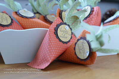 Easter Filled Carrot Favours