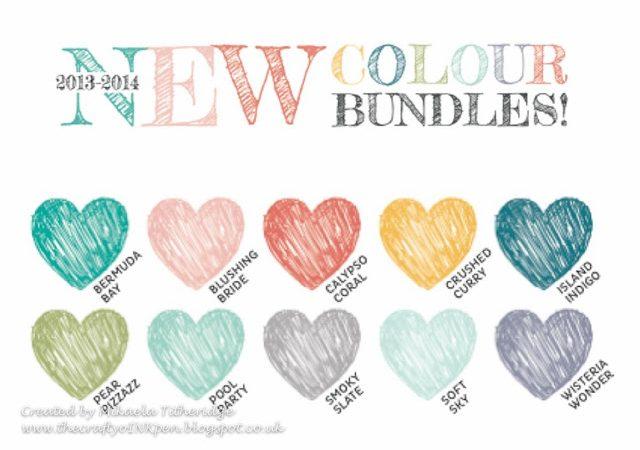 New Colour Bundles! 2013-2014