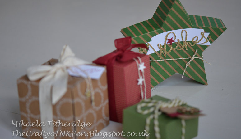Gift Box Punch Board and Many Merry Stars