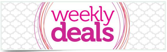 Amazing Weekly Deals