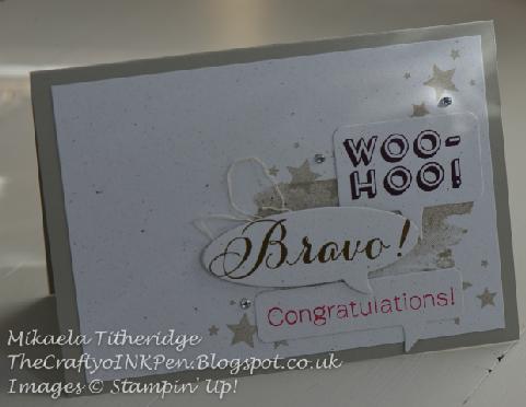 Bravo – Congratulations