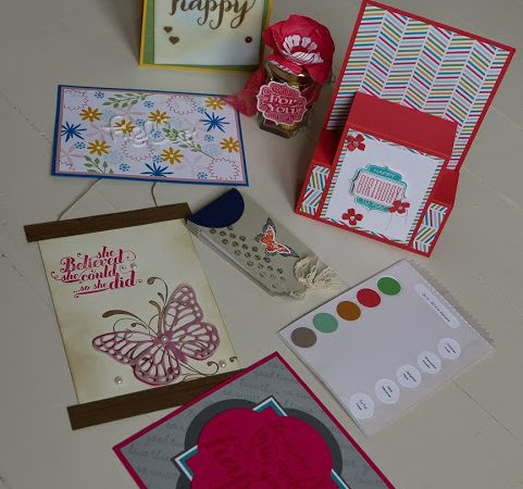 Telford Swaps from the Stampin' Creative Girls