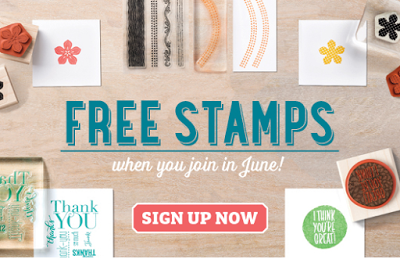 Who wants FREE Stamp Sets? …
