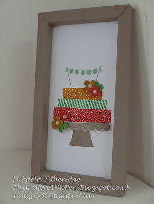 Build a Birthday Cake Frame