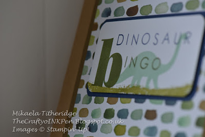 No Bones About it, it's Dinosaur Bingo (inc. Box Instructions)