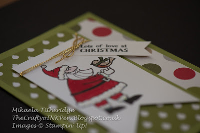 Gifts from Santa by Mikaela Titheridge www.thecraftyoinkpen.stampinup.net
