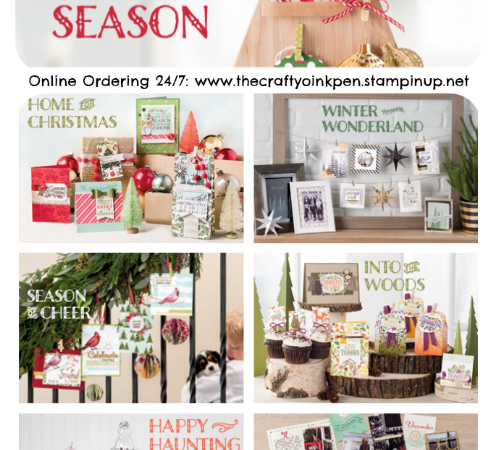 NEW Autumn/Winter Seasonal Catalogue is here and it's open for orders