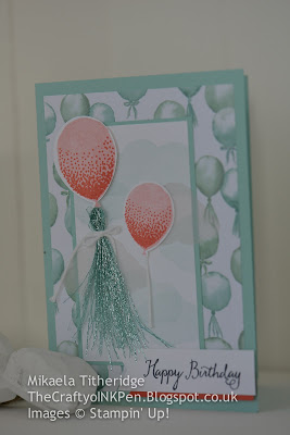 Balloon Celebration meets Birthday Bouquet Designer Series Paper