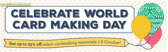 Want to see what Celebrate World Card Making Day offers?