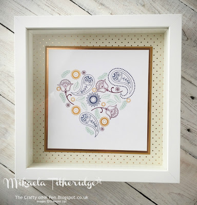 Paisley's and Poises Heart Frame