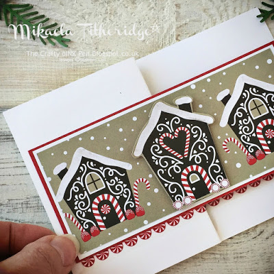 Candy Cane Lane Designer Series Paper Card