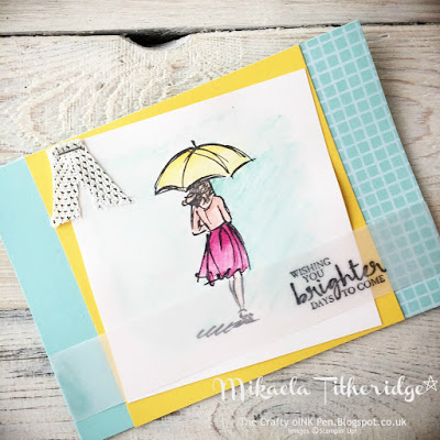Beautiful You Watercolour Pencil Cards