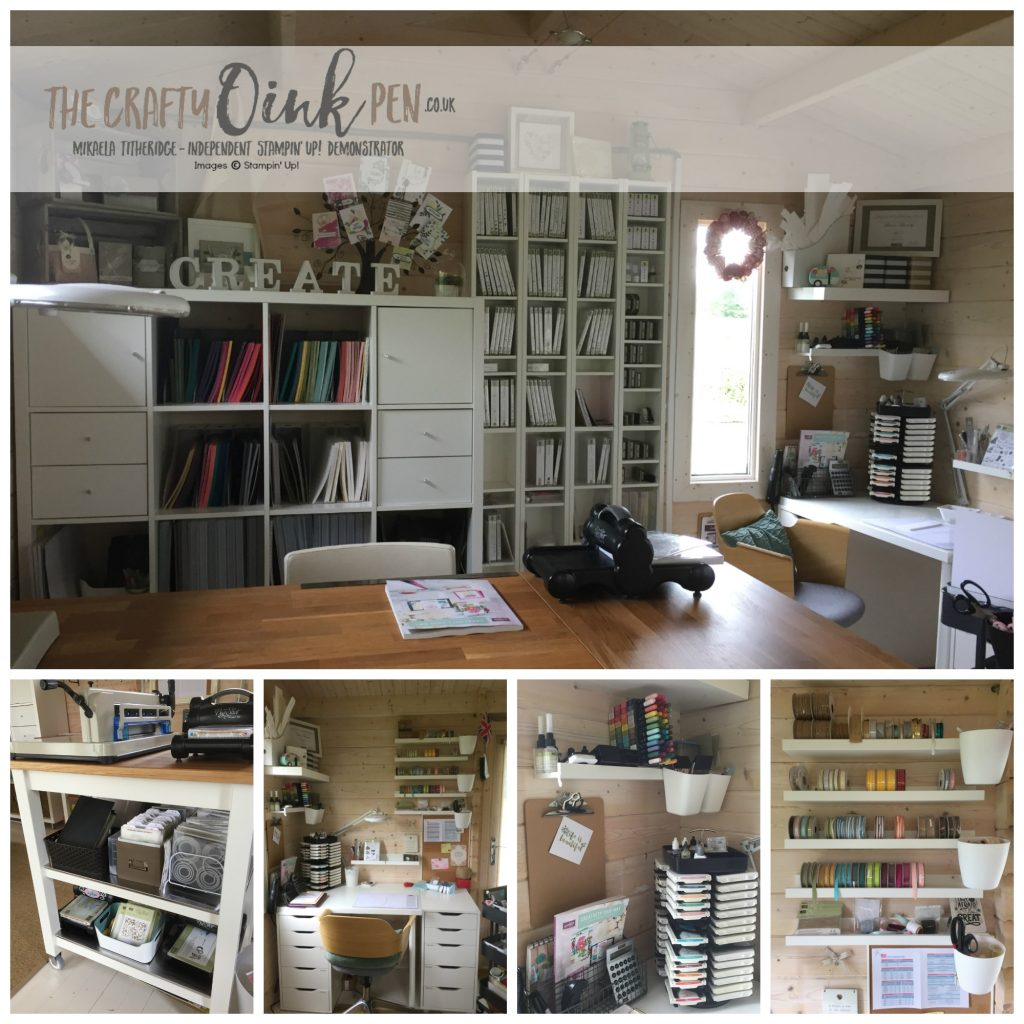 Mikaela Titheridge, The Crafty oINK Pen, Craft Room makeover
