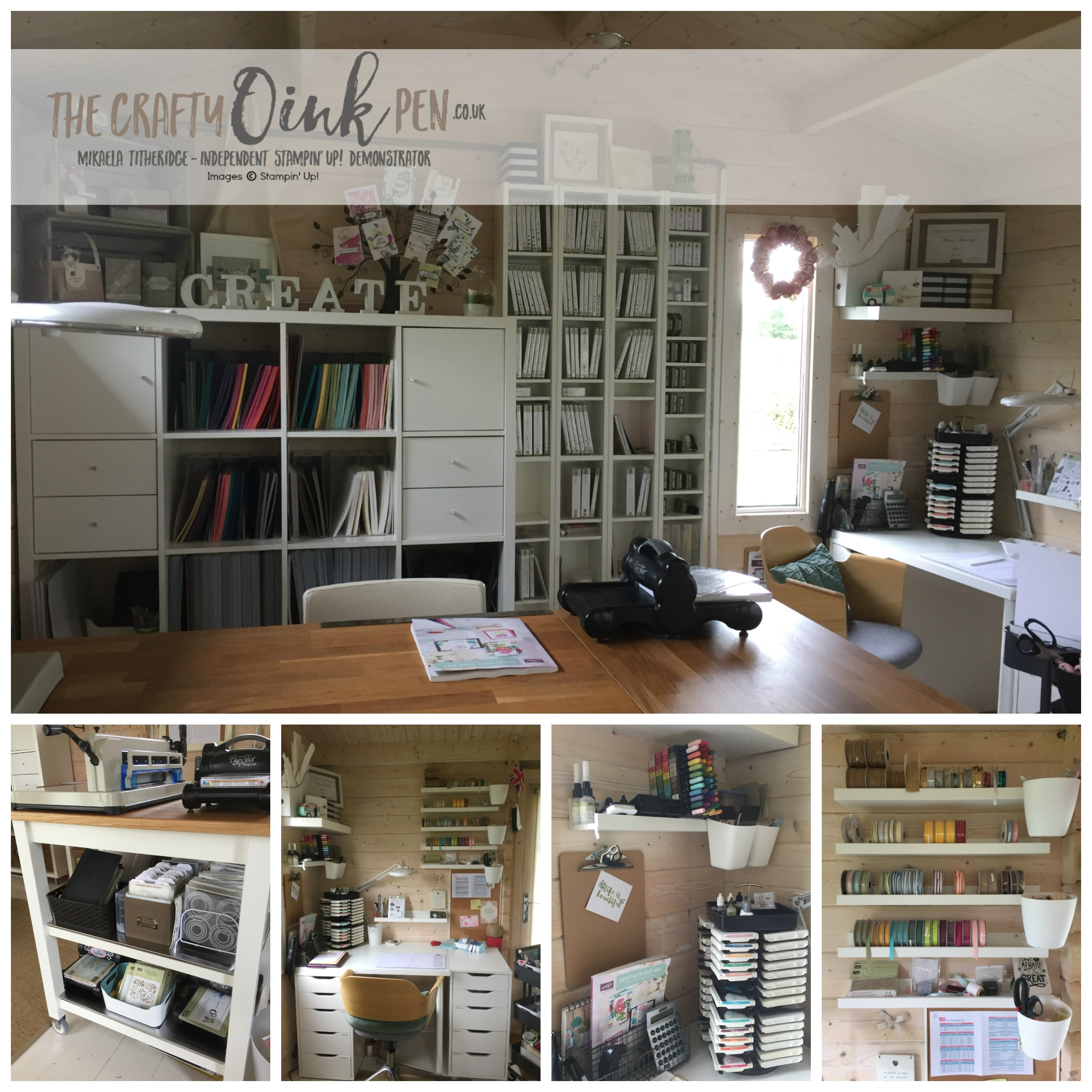 Craft Room Makeover: Craft Room Makeover At The Crafty OINK Pen