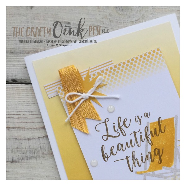 Colorful Seasons and Color Theory by Mikaela Titheridge, Independent Stampin' Up! Demonstrator, The Crafty oINK Pen