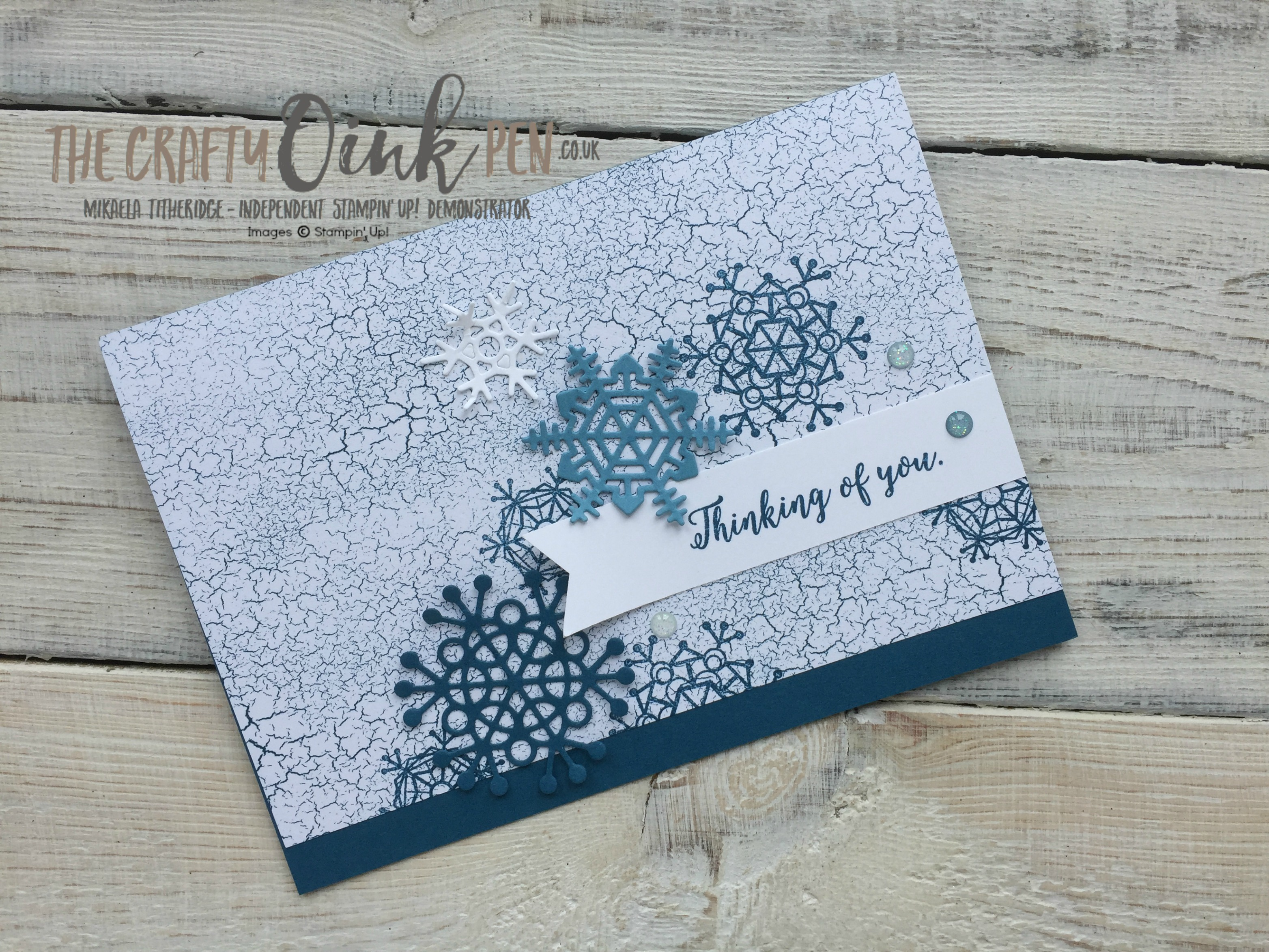 Color Theory for a Colourful Winter Season by Mikaela Titheridge, The Crafty oINK Pen, UK Stampin' Up! Demo