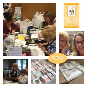 Mikaela Titheridge, UK Independent Stampin' Up! Demonstrator, The Crafty oINK Pen Ronald McDonald House Charities Event