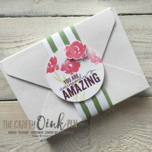Mikaela Titheridge, UK Independent Stampin' Up! Demonstrator, The Crafty oINK Pen. Something Old, Something New with Birthday Memories