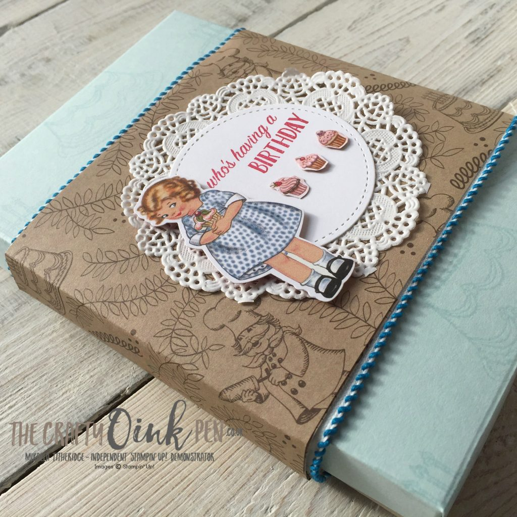 Stampin' Up! Birthday Memories Product Suite for the Creation Station Blog Hop