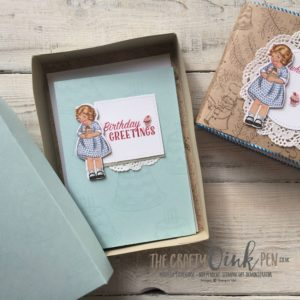 Creation Station Blog Hop, Something Old, Something New, Birthday Memories and Birthday Delivery gift set