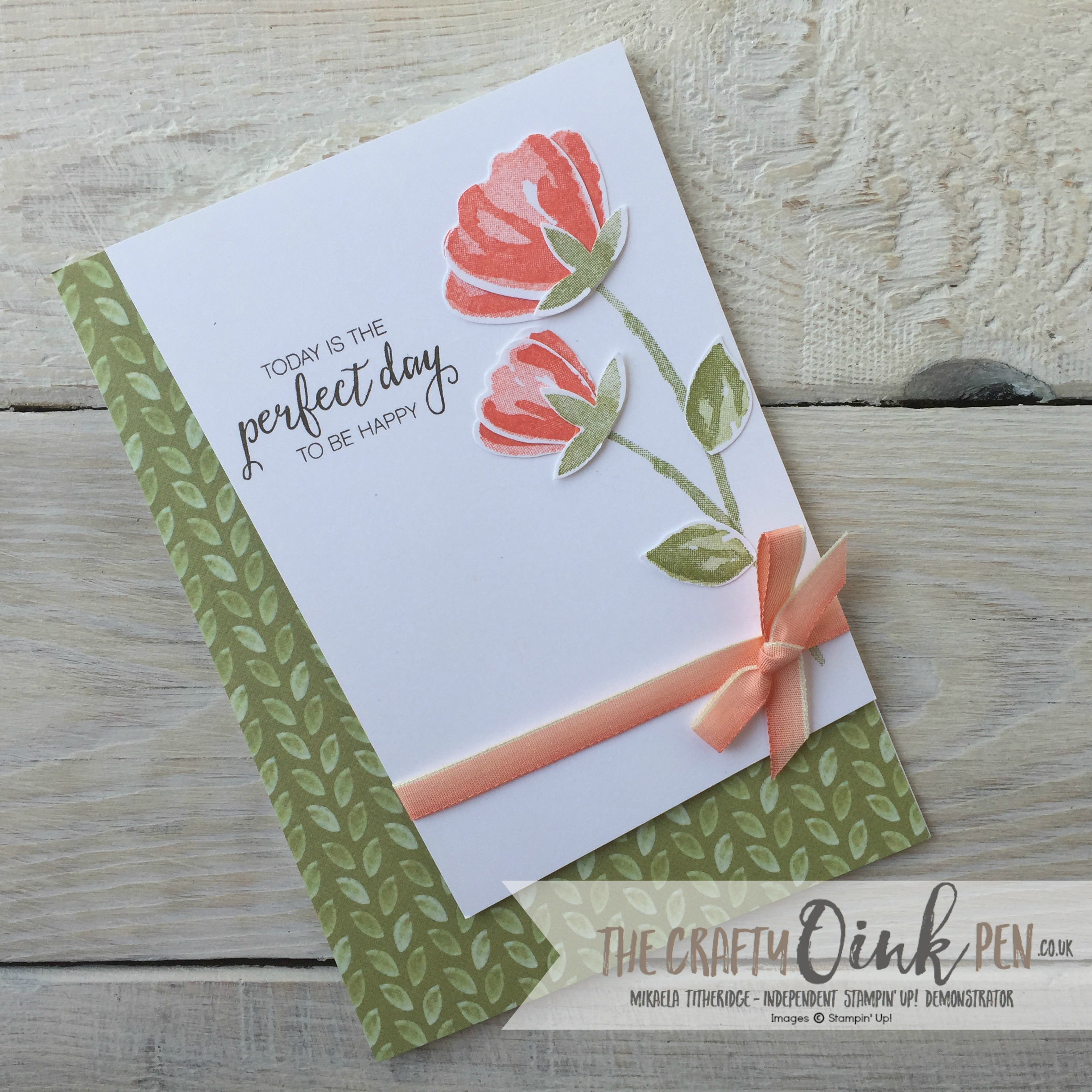 Bunch of blossoms and Blossom Builder Punch by Mikaela Titheridge, Independent Stampin' Up! Demonstrator, The Crafty oINK Pen