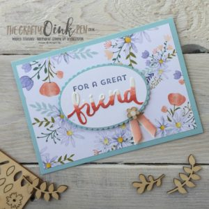 Lovely Inside & Out with Daisy Delight by Mikaela Titheridge, Independent Stampin' Up! Demonstrator, The Crafty oINK Pen