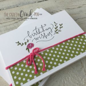 Happiest of Days Birthday Card by Mikaela Titheridge, The Crafty oINK Pen