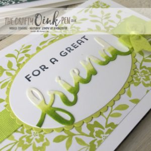 Mikaela Titheridge, UK Independent Stampin' Up! Demonstrator. In Color Collection 2017-2019