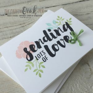 Whole lot of Lovely Suite available through the online store of Mikaela Titheridge, UK Independent Stampin' Up! Demonstrator, The Crafty oINK Pen