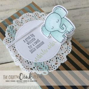 A Little Wild Fabulous Foil for Stamping Sunday Blog Hop by Mikaela Titheridge, The Crafty oINK Pen