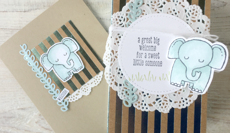 Stamping Sunday Blog Hop – Fabulous Foil