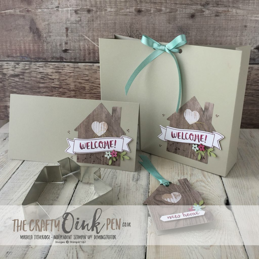 Creation Station In the Neighbourhood with Home Life by Mikaela Titheridge, The Crafty oINK Pen, Gift, Card and Tag