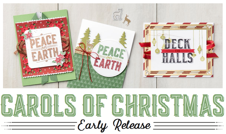 Deck the Halls early release Bundle by Stampin' Up! Available through my online store. The Crafty oINK Pen