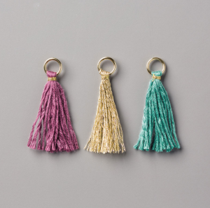 Eastern Palace Mini Tassels Assortment used here by Mikaela Titheridge, Independent Stampin' Up! Demonstrator, The Crafty oINK Pen