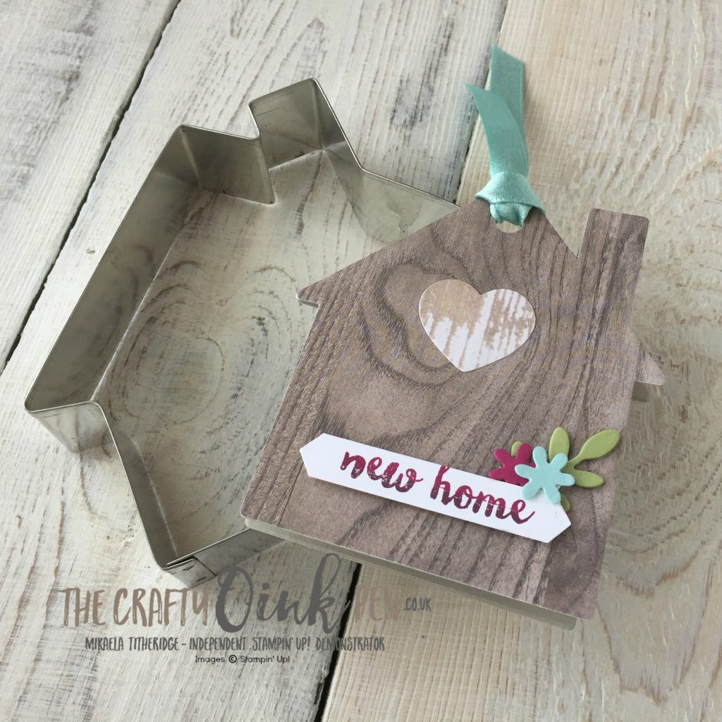 Creation Station Blog Hop in the Neighbourhood by Mikaela Titheridge, Stampin' Up! Demo using Home Life for a new neighbour welcome gift
