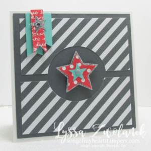 Stampin' Creative Blog Hop with special guest Lyssa Zwolanek. Casing the guest.