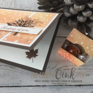 Colourful Seasons for casing Lyssa Zwolanek by Mikaela Titheridge, Independent Stampin' Up! Demonstrator, The Crafty oINK Pen, UK