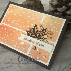 Mikaela Titheridge, Independent Stampin' Up! Demonstrator, The Crafty oINK Pen casing Lyssa Zwolanek