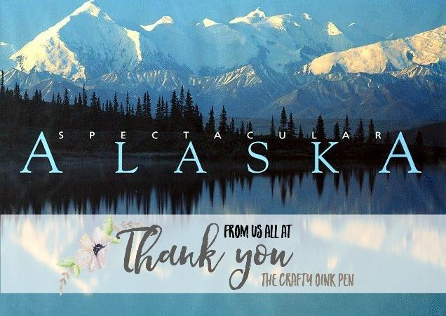 Huge Alaskan Thanks as I earn this adventure