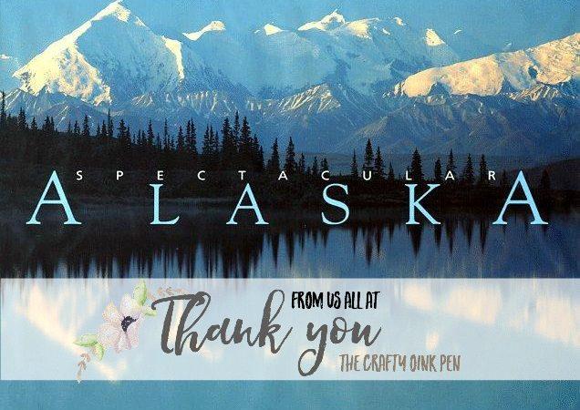 Huge Alaskan Thanks as I earn this adventure