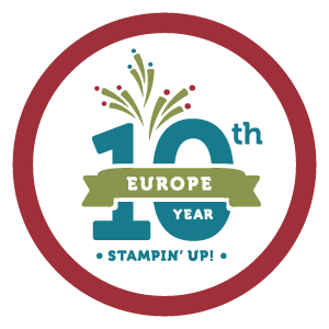 10th Anniversary for Stampin' Up! Europe