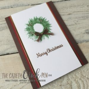 #6 UK Stampin' UP! Demonstrator The Crafty oINK Pen, Mikaela Titheridge, brings you Painted Harvest Christmas