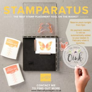 Reserve your Stamp Positioning Tool with me, Mikaela Titheridge, Independent Stmapin' Up! Demonstrator, The Crafty oINK Pen