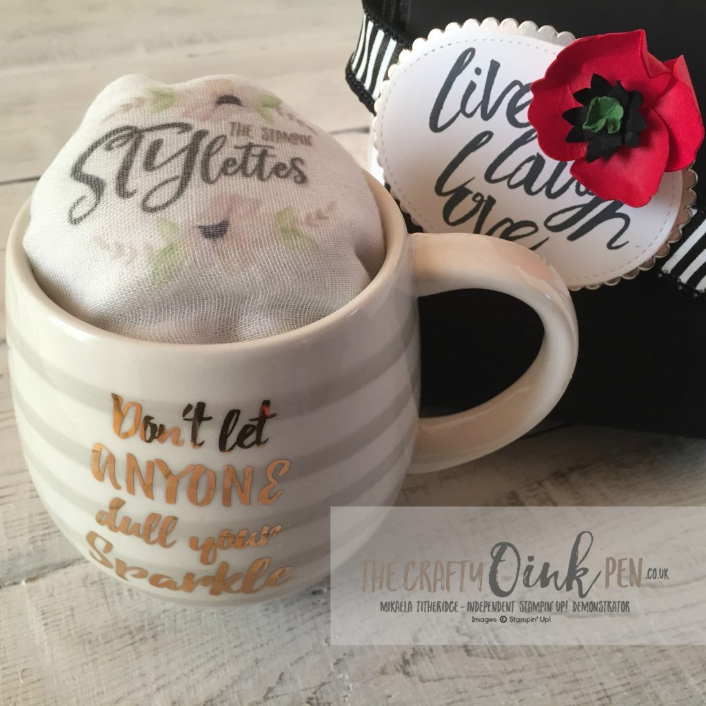 Independent Stampin' Up! Demonstrator, The Crafty oINK Pen and The Stampin' STYlettes