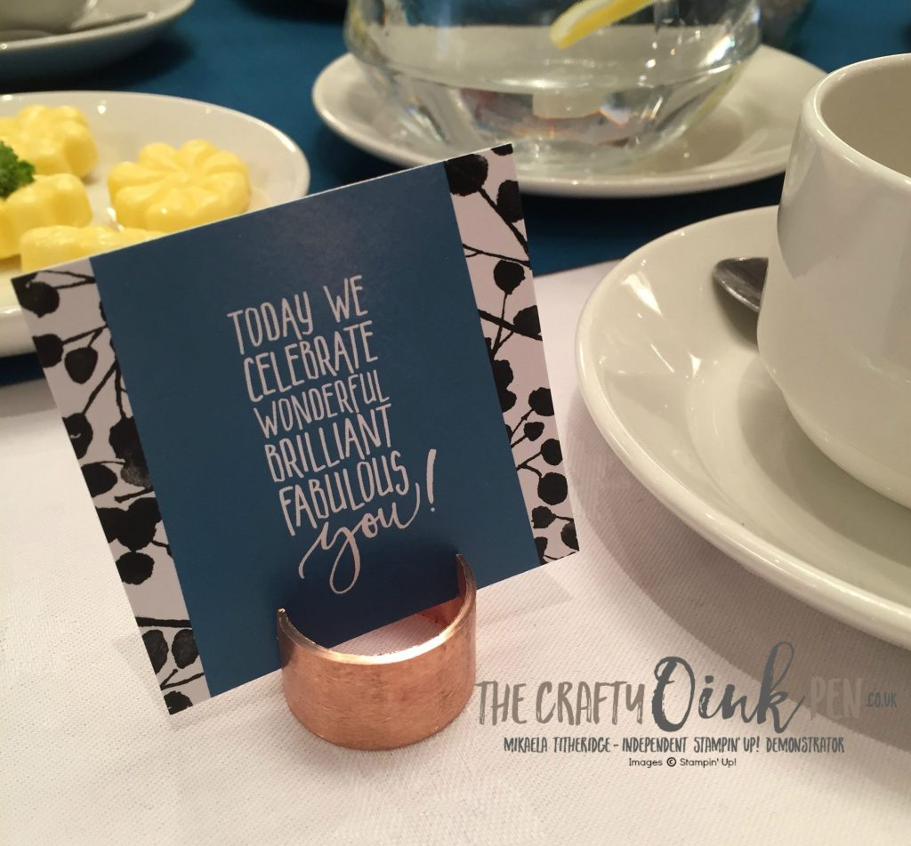 Appreciation Quote at Centrestage. Mikaela Titheridge, UK Stampin' Up! Demonstrator