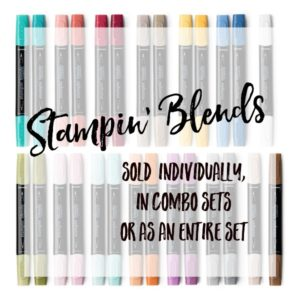 Mikaela Titheridge, Independent Stampin' Up! Demonstrator, The Crafty oINK Pen, Stampin' Blends, alcohol markers