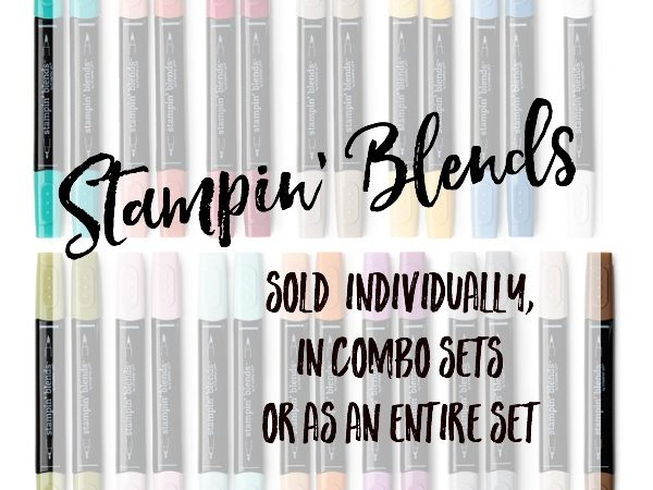 Colour Me Happy with Stampin' Blends