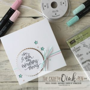 Ready for Christmas by Mikaela Titheridge, for the Blends Stamping Sunday Blog hop