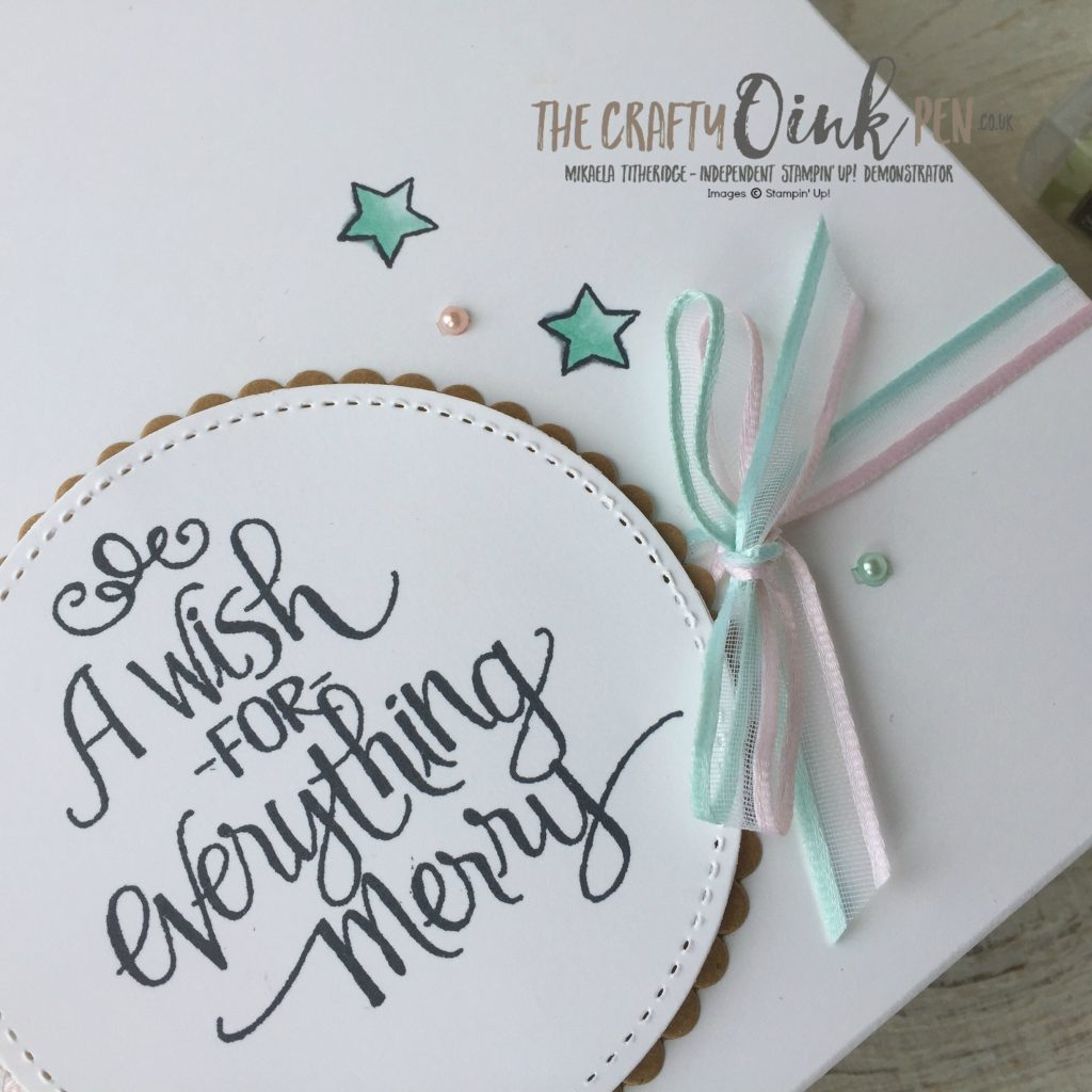Stampin' Up! Demonstrator, Mikaela Titheridge brings you Stampin' Blends